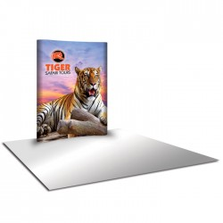6'W x 8'H Curved Pop Up Trade Show Replacement Panels