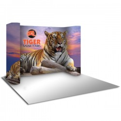 10'W x 8'H Horseshoe Pop Up Trade Show Replacement Panels