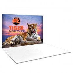 10' wide x 8' high Straight Pop Up Trade Show Replacement Panels