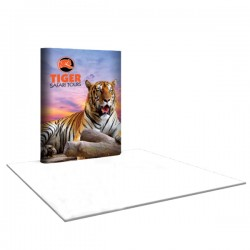 6'W x 8'H Straight Pop Up Trade Show Replacement Panels