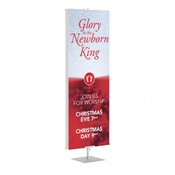 Christmas Newborn King Banner Stands