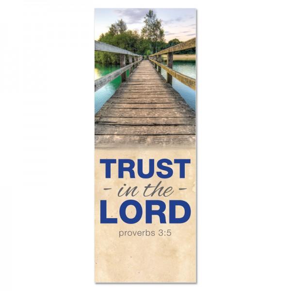 Praise Bridges Trust in the Lord Indoor Vinyl Banner
