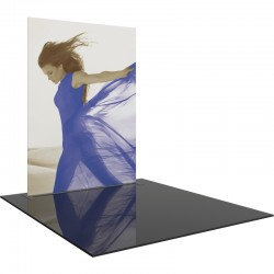 Extra Tall 8 FT Wide Straight Fabric Display