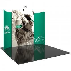 10 FT Designer Fabric Trade Show Display Kit 2