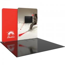 10 FT Designer Fabric Trade Show Display Kit 10
