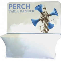 96w x 44h Table Top Fabric Header Display