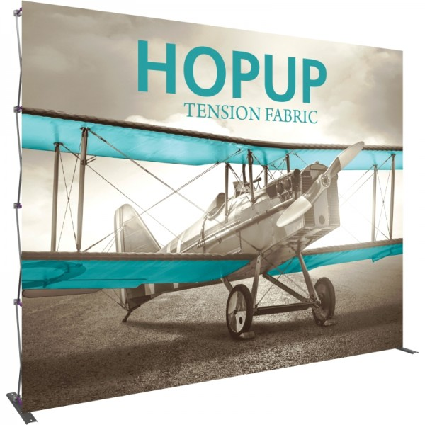 Extra Tall 12ft Wide x 10ft High Tension Fabric Display