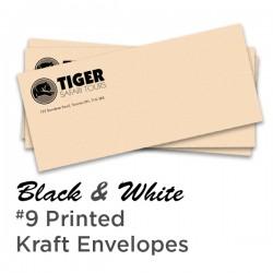 B&W #9 Printed Kraft Envelope