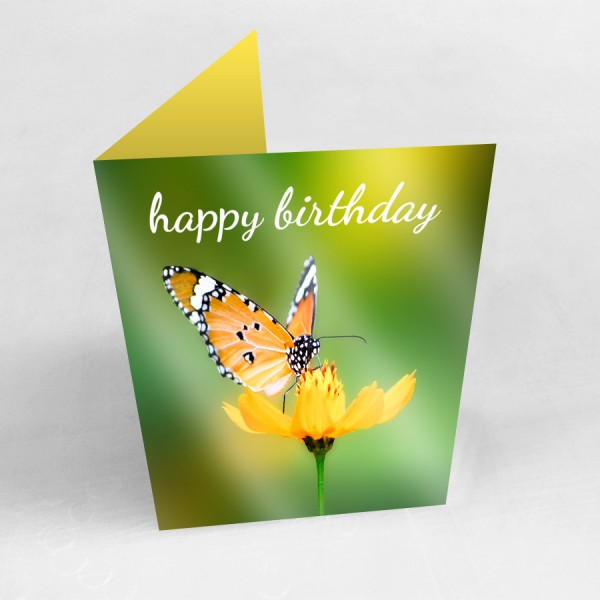 "5"" x 7"" Custom Printed Greeting Cards (Gloss Finish)"