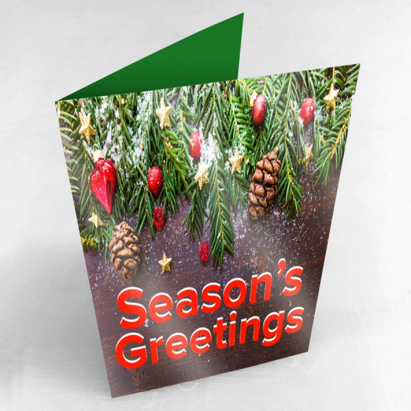 "5.5"" x 8.5"" Custom Printed Greeting Cards  (Gloss Finish)"