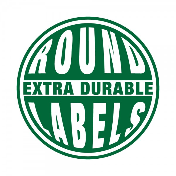 Round Extra Durable Labels