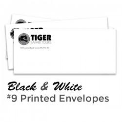 B&W #9 Printed Envelope