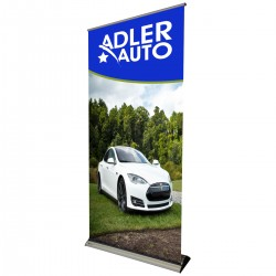 "Banner Bug Retractable Banner Stand - 39""W x 86""H"