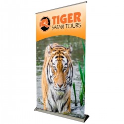 """Banner Bug Retractable Banner Stand - 47""""W x 86""""H"""