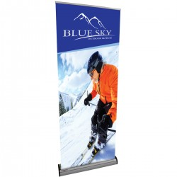 "Imagine Retractable Banner Stand - 31.5""W x  83.5""H"