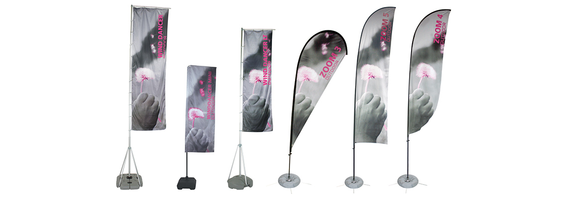 Custom Outdoor Flags For Businesses