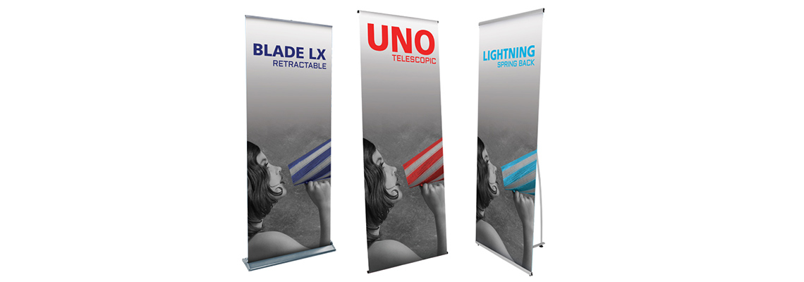 Different Types of Banner Stands