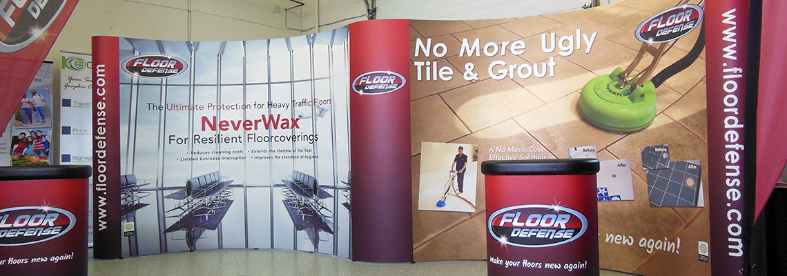 Magnetic Replacement Trade Show Panels