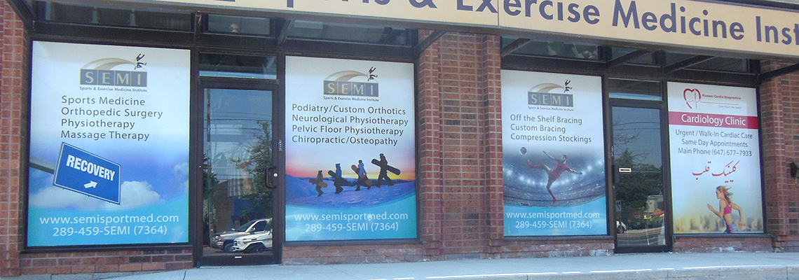 Perforated Window Graphics for Business