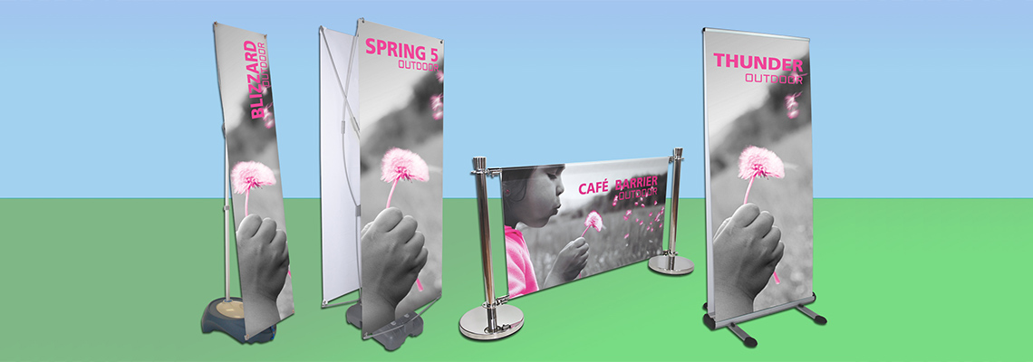 The Best Custom Outdoor Banner Stands