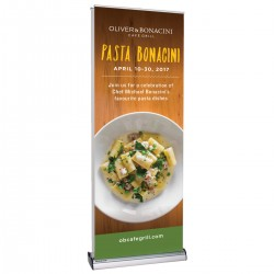 Advance 800 Double Sided Retractable Banner Stand