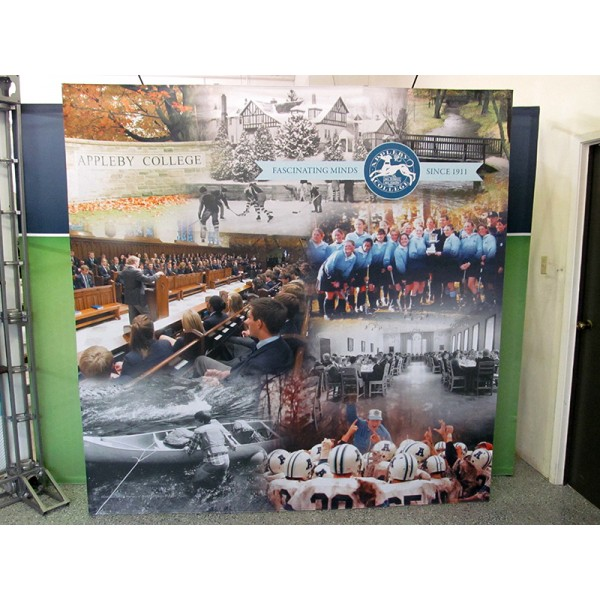5FT Wide Fabric Trade Show Display