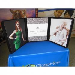 EFEX 2201 Folding Tabletop Display Boards