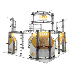 20x20 Leo Exhibit and Display Truss Kits