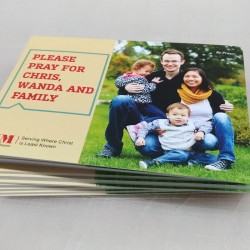 4.25 x 2.75 Single Sided Full Colour Postcards