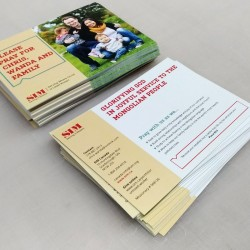 3 x 4 Double Sided Full Colour Postcards