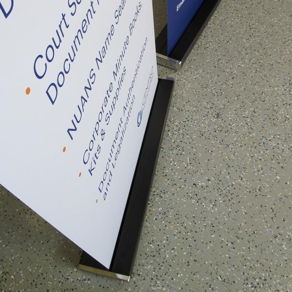 "Blok 33.5"" Retractable Banner Stand"