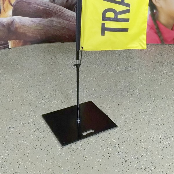 Square Steel Base for Advertising Flags