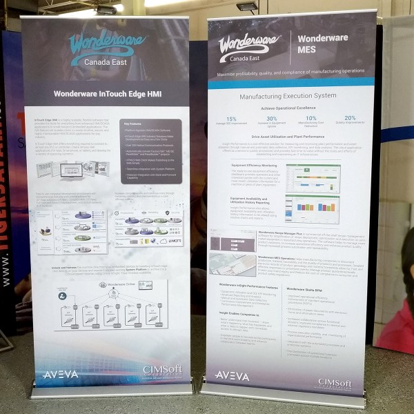"""Blade Lite 36""""w x 83.25""""h Retractable Banner Stand"""