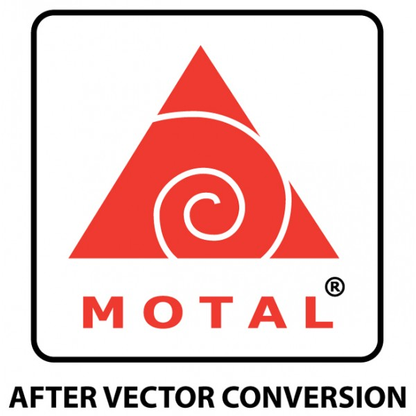 Simple Logo Vector Conversion