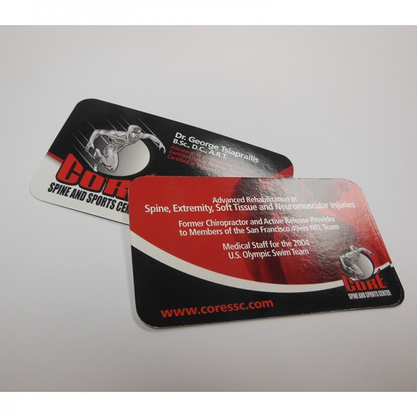 "2"" x 3.5"" UV Glossy Business Cards"