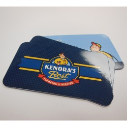 """2"""" x 3.5""""  UV Glossy Business Cards with round corners & full UV one side"""