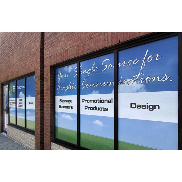 See Through Window Graphics - up to 10 square feet