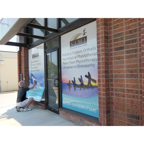 See Through Window Graphics - up to 8 square feet