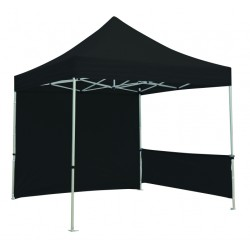 10 x 10 Pop Up Event Tent, Backwall and Halfwall Sides