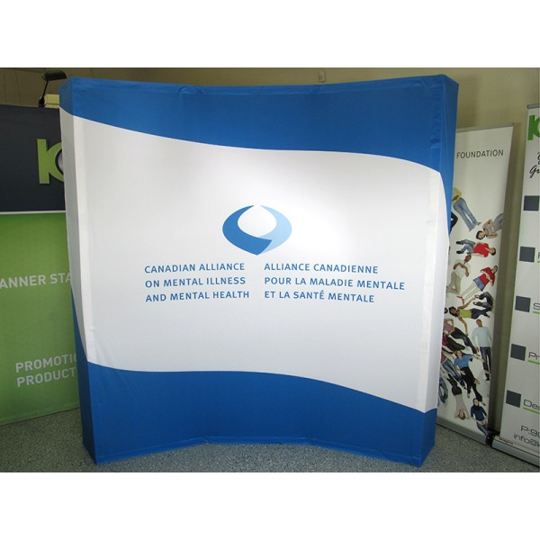 Hopup 5FT Wide Curved Trade Show Display