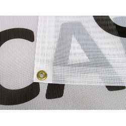 2' x 6'  Mesh Vinyl Banner