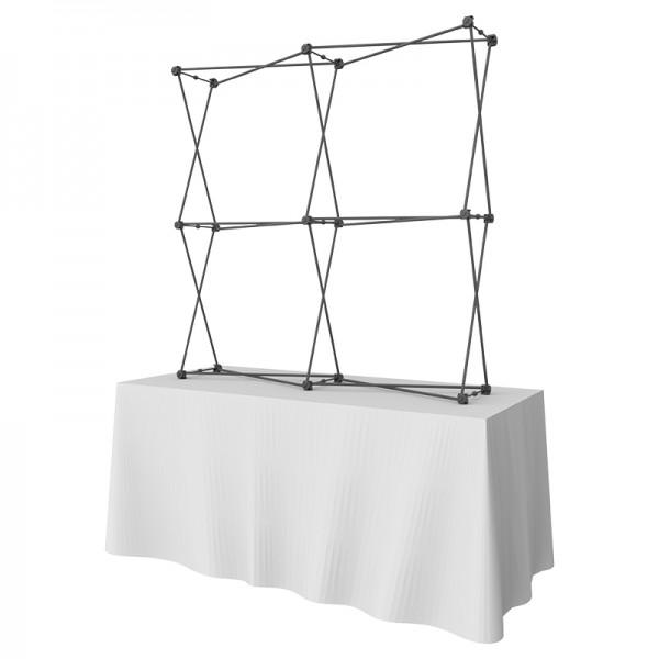 5FT Wide Multi-Panel Fabric Tabletop Display Kit 4
