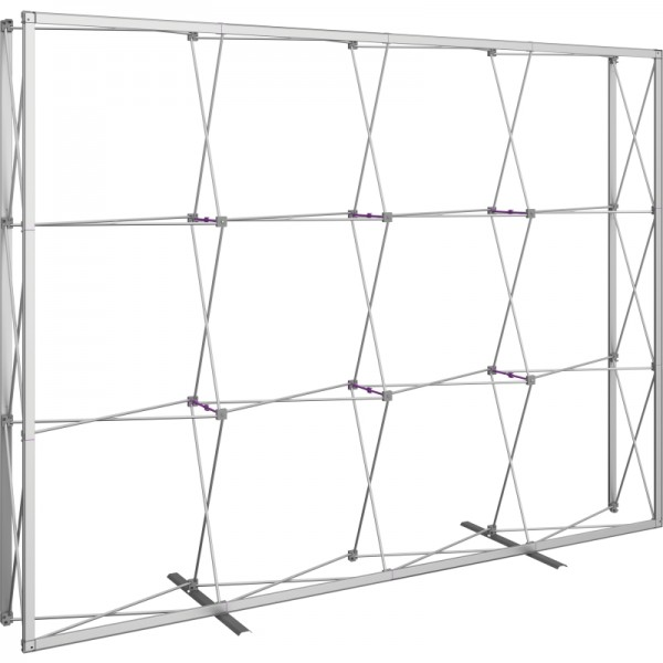 Push Fit 10 FT Wide Straight Fabric Display