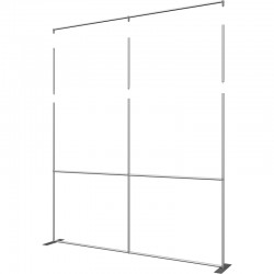 Extra Tall 10 FT Wide Straight Fabric Display