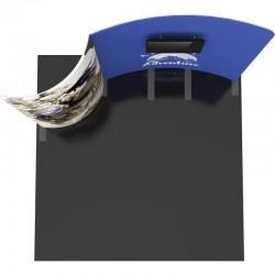 10 FT Designer Fabric Trade Show Display Kit 1