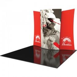 10 FT Designer Fabric Trade Show Display Kit 5