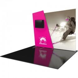 10 FT Designer Fabric Trade Show Display Kit 7