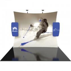 10 FT Designer Fabric Trade Show Display Kit 12