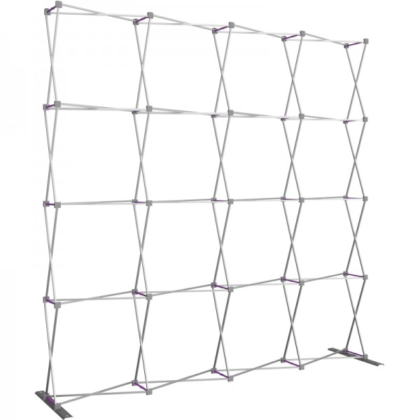 Extra Tall 10ft Wide x 10ft High Tension Fabric Display