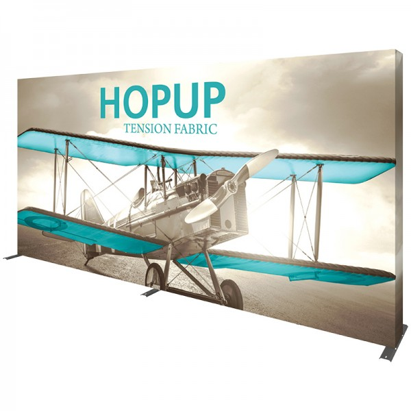 Extra Wide 15ft Wide x 8ft High Tension Fabric Display